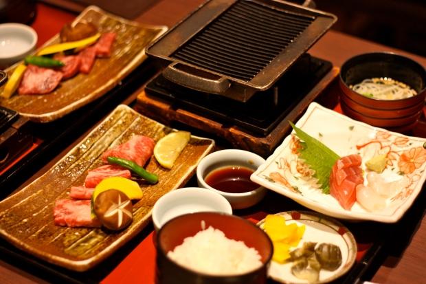 Pieniä ruokia Kiotossa